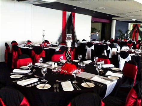 imagenes bodas en blanco y rojo como decorar una boda en color negro