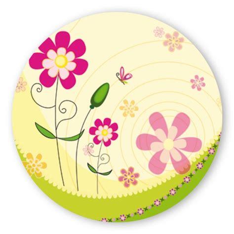 Aufkleber Bestellen Rund by Geschenk Aufkleber Mit Gro 223 En Blumen Rund Aufkleber Shop