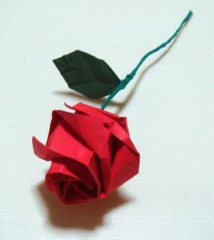 Rosa De Origami - el arte origami rosa de toshikazu kawasaki