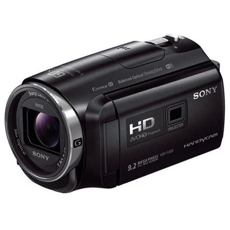 Handycam Sony Projector Pj6 sony hdr pj620 hd handycam with built in projector hdr pj620 b h