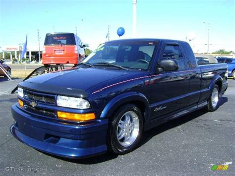 2001 S10 Blazer Xtreme by 2001 Indigo Blue Metallic Chevrolet S10 Extended Cab