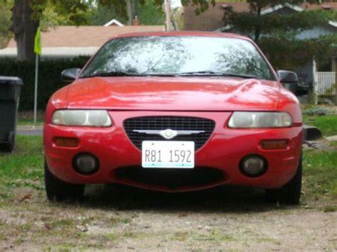 Chrysler Sebring 98 by Sell Used 98 Chrystler Sebring Lxi In Pekin Illinois