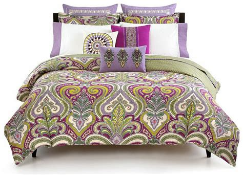 echo vineyard paisley comforter  duvet cover sets
