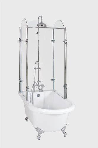 buy clawfoot bathtub clawfoot tub glass shower enclosure home design plan