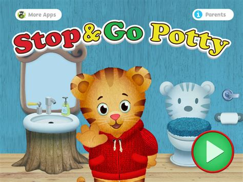 daniel tiger bathroom song daniel tiger s stop go potty mobile downloads pbs kids