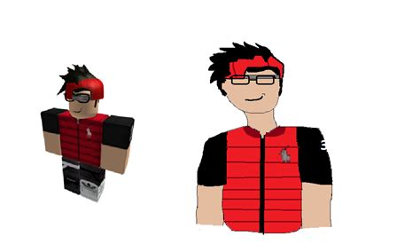 Sketches Roblox Character by My Roblox Character Drawing By Mrcool180502 On Deviantart