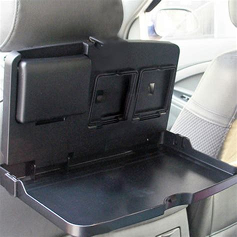 Car Multifunction Foldable Seat Back Meal Table Meja Lipat Mobil car multifunction tray folding back seat table drink food cup holder us 22 78