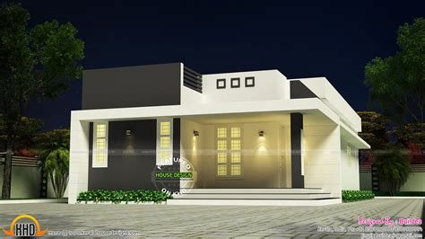 modern home design with a low budget simple and beautiful low budget house kerala home design