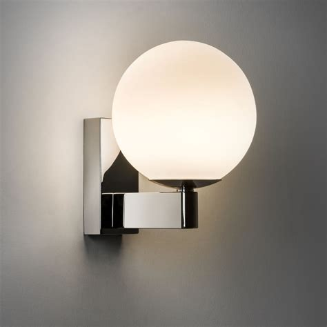 astro lighting 0774 sagara bathroom chrome wall light ip44
