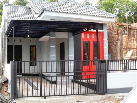 23 desain garasi mobil minimalis dengan pintu sing rumah ndik home