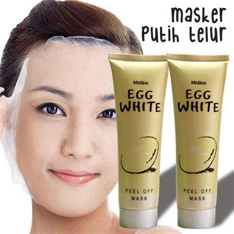 Masker Egg White mistine eeg white peel of masker putih telur