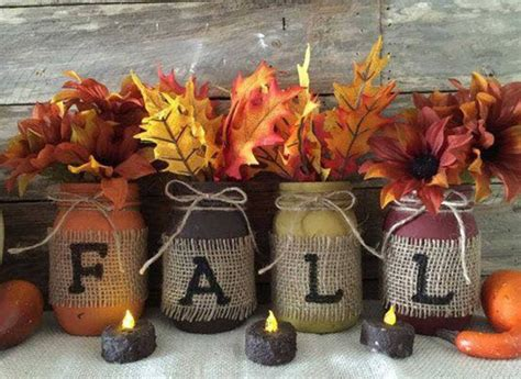 crafts for fall decorations fantastic fall craft ideas