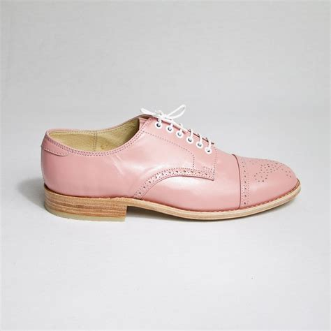 pastel oxford shoes pastel pink oxford brogue shoes free worldwide shipping