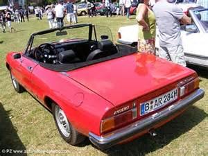 1979 Alfa Romeo Spider Specs 1979 Alfa Romeo Spider 2a Serie Square Range Specs