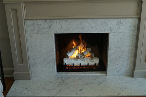 gas fireplace set gas log fireplace white birch american oak vented gas log