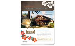 rental property flyer template vacation rental flyer template design