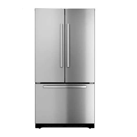 cabinet depth refrigerator lowes shop bosch 800 series 22 cu ft counter depth french door