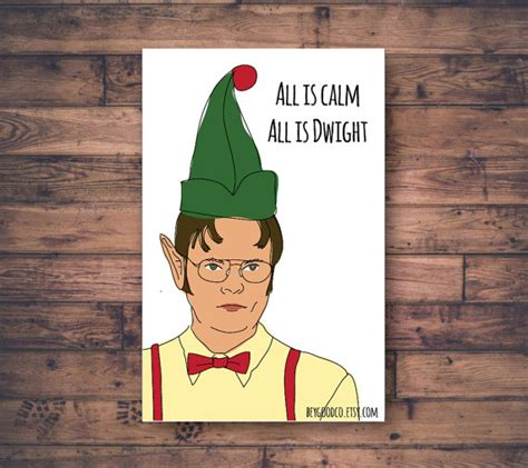 office christmas card dwight schrute printable christmas