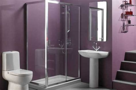 purple bathroom ideas wonderful small bathroom paint color ideas within tiny