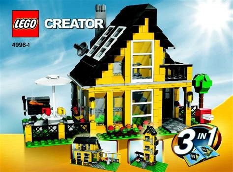 Lego House 4996 Lego Holiday House Instructions 4996 Creator
