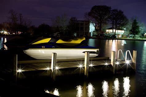 boat dock lighting fixtures dek dots dekor 174 lighting