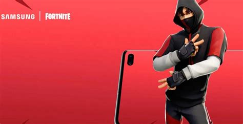 heres     samsung galaxy  exclusive fortnite skin