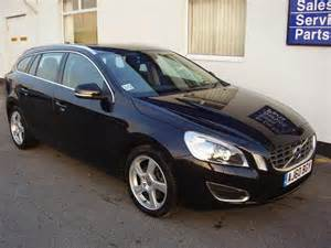 Volvo V60 Estate For Sale Used Volvo V60 2010 Black Colour Diesel D5 205 Se