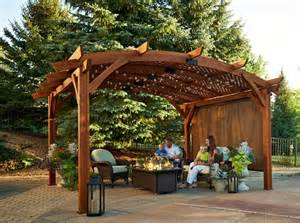 Backyard Fire Pits For Sale Sonoma 1216 And 16 Pergola Redwood Pergolas Pergolas