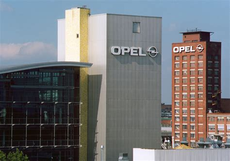 Opel Factory Impact Gm To Opel Factory In Germany