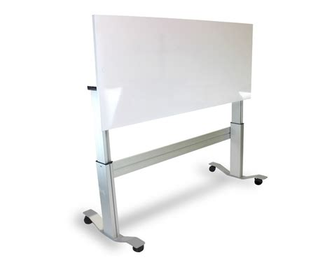 Markit Up The First Adjustable Standing Desk With Flip White Board Desk
