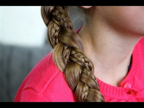 cute hairstyles with braids youtube simple braid with micro braids cute girls hairstyles