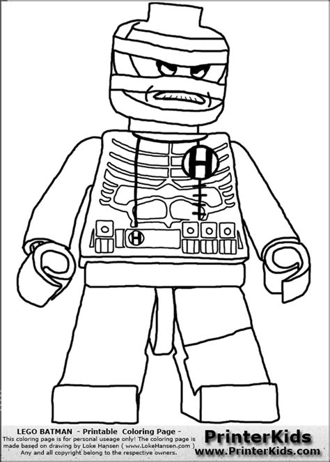 Color Pages For Batman S Villians Lego Lego Batman Hush Coloring Pages Of Lego Batman