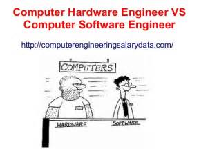 Computer Hardware Engineer Education by Computer Hardware Engineer Vs Computer Software Engineer