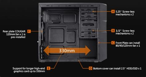 cougar spike budget micro atx case revealed