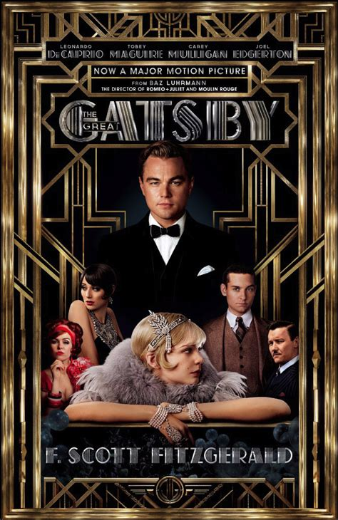 the great gatsby movie new the great gatsby movie poster tie in book cover edition