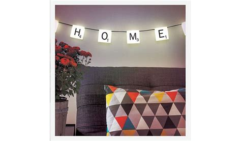 decorative letters asda scrabble letters string lights read reviews and buy