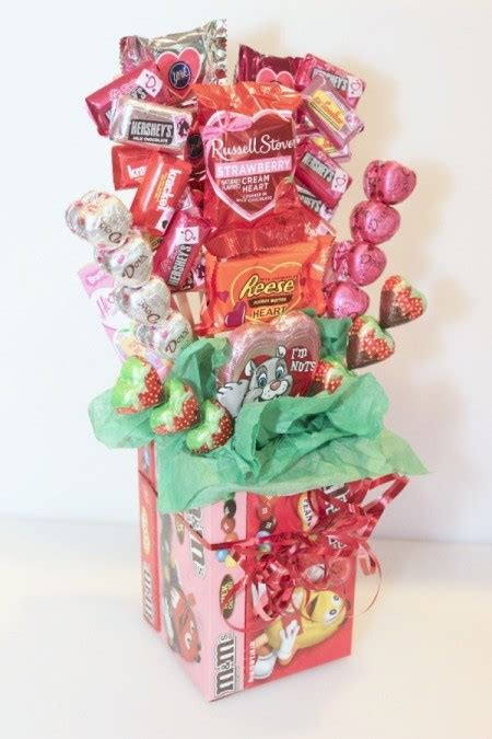 valentines sweet bouquets a s day bouquet thriftyfun