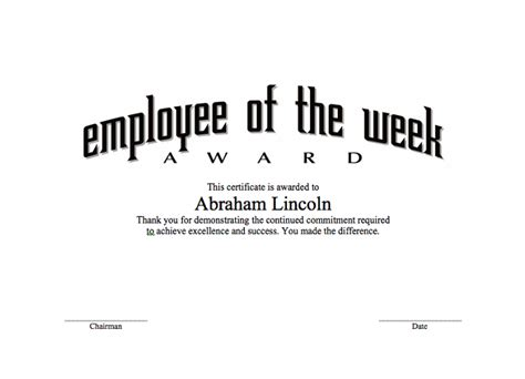 employee of the quarter certificate template powerpoint templates certificate images powerpoint