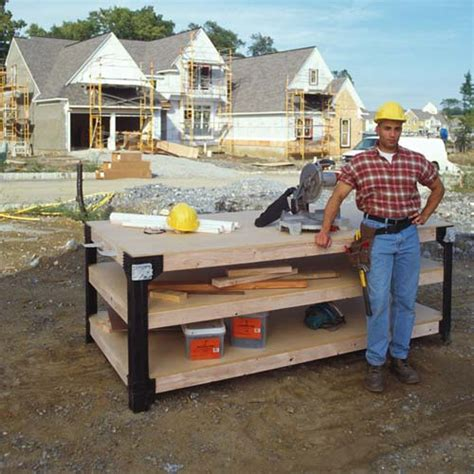 custom work bench diy custom workbench storage wooden shelf garage shop