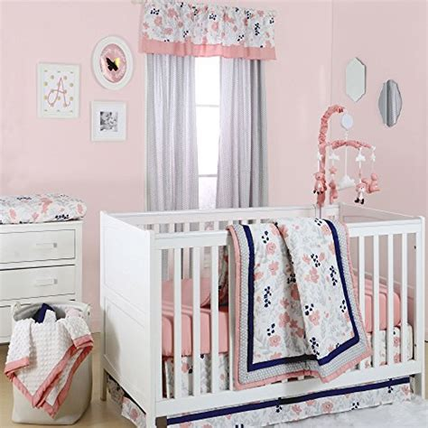 Pink Nursery Ls by Compare Price To Blue And Coral Crib Bedding Tragerlaw Biz