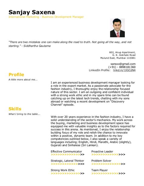 Vendor Development Manager Resume by Sanjay Saxena Vendor Base Resume Updated 4th July 2015