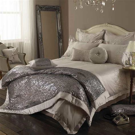 sparkly bedroom decor luxury bed set trends 2014