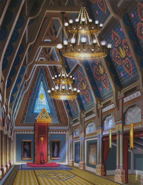 Disney Castle Floor Plan by Frozen Images Arendelle Castle Main Hall Wallpaper