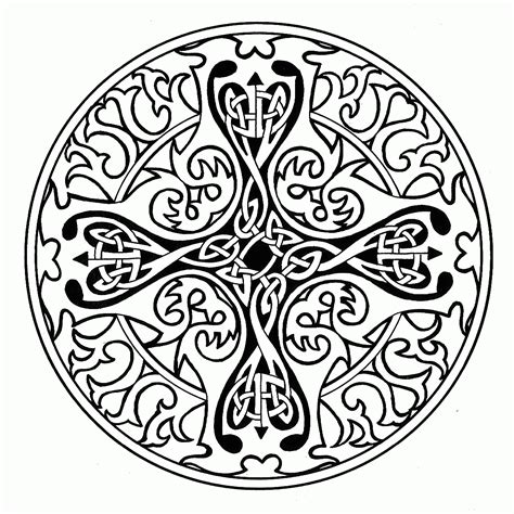 celtic mandala coloring pages for adults mandala coloring pages for adults printable free celtic