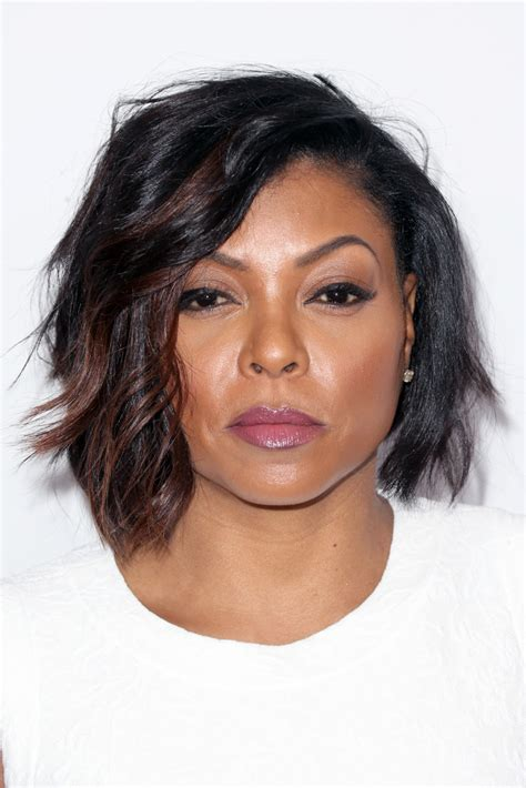 taraji p henson long wavy hairstyle pictures to pin on pinterest taraji p henson short wavy cut short wavy cut lookbook