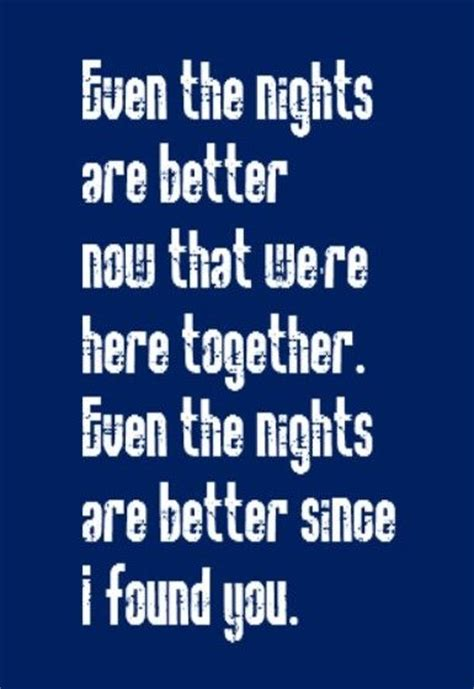 air sog air supply even the nights are better song lyrics