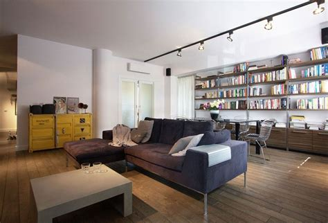 industrial apartment stylish apartment in poland charms with cool industrial