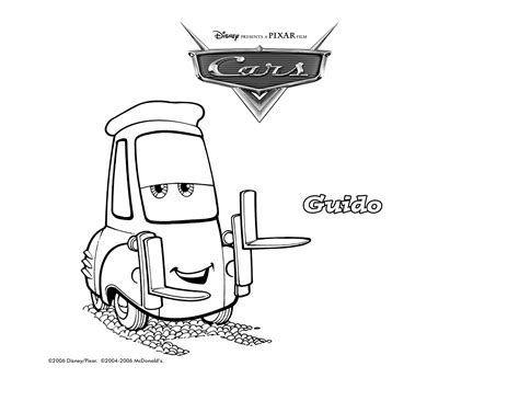 cars guido coloring pages 2006 coloring guido jpg 1650 215 1275 birthday cake helps