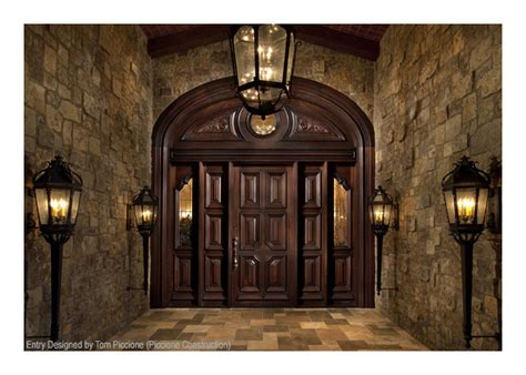Handmade Oak Doors - portfolio of custom wood doors by craftsmen in wood