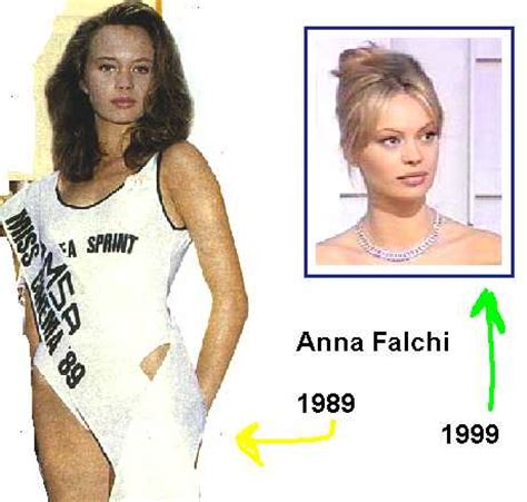 anna falchi miss italia 1989 anna falchi miss cinema 1989